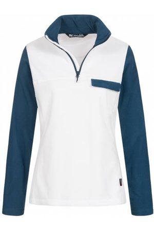 helly-hansen Damen Sweatshirts - Helly Hansen Sunset 1/4 Zip Damen PolarTec Fleece Sweatshirt 51884-001