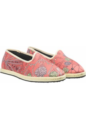 Emilio Pucci Loafers & Ballerinas Ballerina Shoes Conchiglie Baby rot