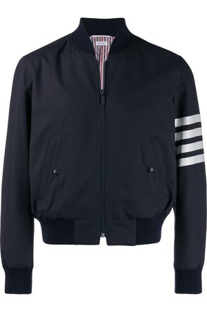 Thom Browne Herren Sommerjacken - 4-Bar plain weave suiting bomber jacket