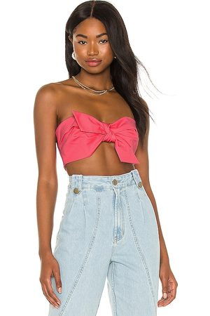 IORANE Compact Cotton Knot Crop Top in . Size XS, S, M.