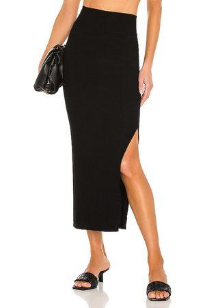 ENZA COSTA Silk Rib Pencil Skirt in . Size XS, S.