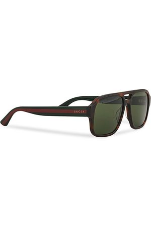 Gucci GG0925S Sunglasses Havana/Green