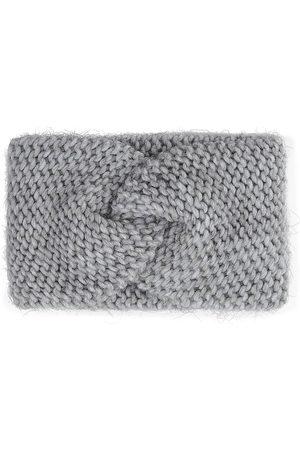 Belmondo Strick-Stirnband in hellgrau, Mützen & Handschuhe für Damen
