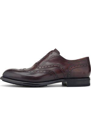 Franceschetti Herren Elegante Schuhe - Gomma Cortina in dunkelbraun, Business-Schuhe für Herren
