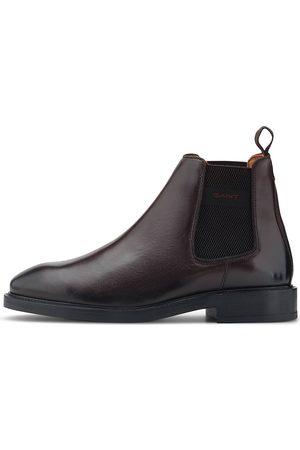 GANT Herren Chelsea Boots - Chelsea-Boots Flairville in dunkelbraun, Boots für Herren