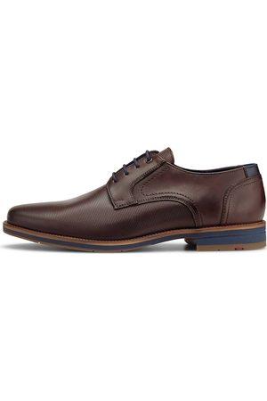Lloyd Herren Elegante Schuhe - Schnürer Laredo in mittelbraun, Business-Schuhe für Herren