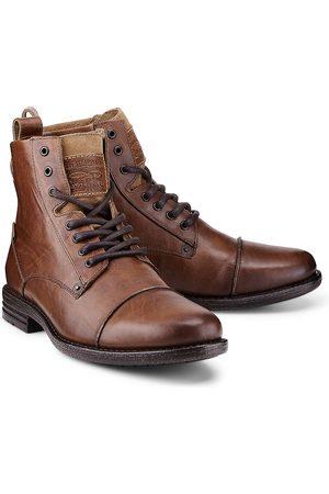 Levi's Herren Stiefel - Levi's, Schnür-Boots Emerson in mittelbraun, Boots für Herren