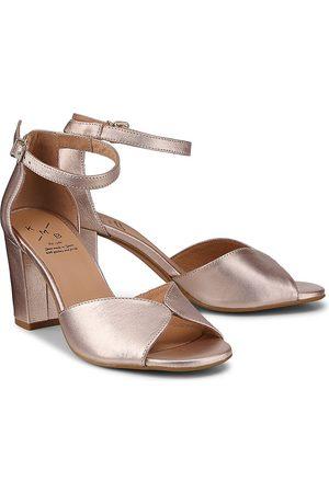 KMB Sandalette Mimi Cml in bronze, Abendschuhe für Damen