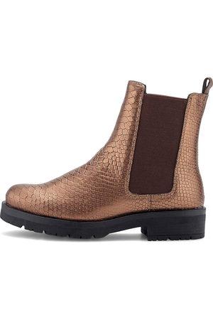 Cox Chelsea-Stiefelette in bronze, Boots für Damen