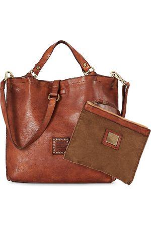 Campomaggi Schultertasche Shopping Medium in mittelbraun, Schultertaschen für Damen