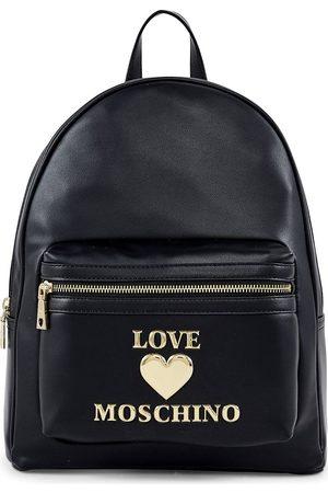 Love Moschino Rucksack New Padded Shiny Heart in , Rucksäcke für Damen