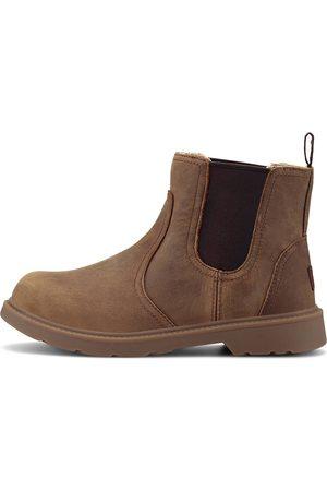 UGG Jungen Chelsea Boots - Chelsea-Boots K Bolden Wp in mittelbraun, Stiefel für Jungen