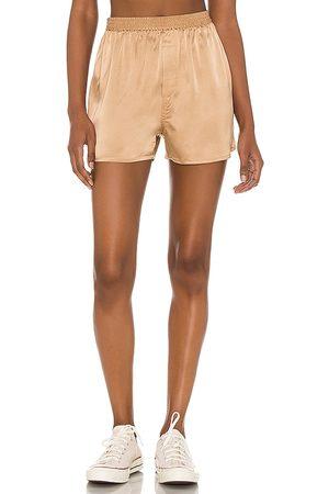 Frankies Bikinis Fifi Silk Boxer in . Size XS, S, M.