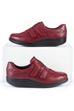 Avena Damen Sneakers - Damen Rollsohlen-Klettschuh Thermoleicht