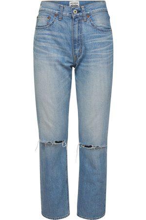 JUNYA WATANABE Jeans Aus Baumwolldenim Im Destroyed-look