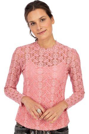 Spieth & Wensky Damen Longsleeves - Langarmbluse mit Top RAVIOLI pink