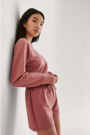 Trendyol Damen Schlafanzüge - Loungewear Set - Copper