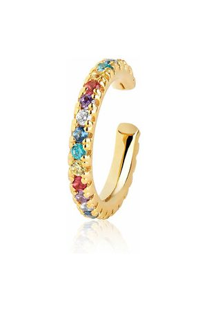 Sif Jakobs Ohrringe Ellera Piccolo Ear Cuff Multi-Colored gold