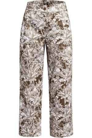 Riani Damen Weite Hosen - Culotte gruen