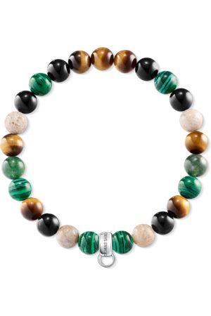 Thomas Sabo Damen Armbänder - Charm-Armband Braun, Grün, Weiß