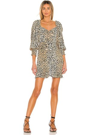 FAITHFULL THE BRAND Arianne Mini Dress in . Size M, S, XL, XS.
