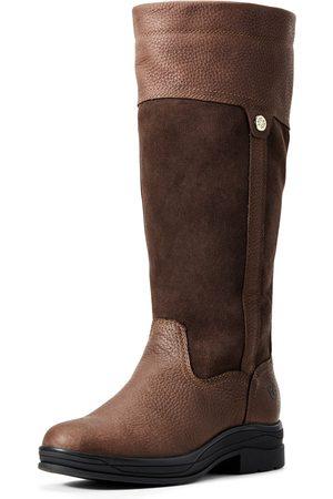 Ariat Women's Windermere II Waterproof Boots in Brown Leather