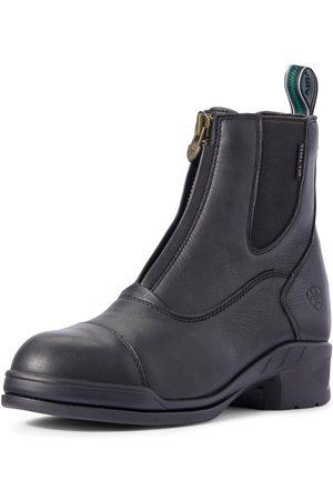 Ariat Women's Heritage IV Steel Toe Zip Paddock Boots in Black