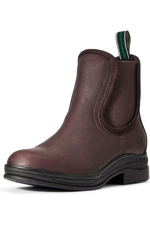 Ariat Damen Stiefel - Women's Keswick Waterproof Boots in Dark Brown Leather