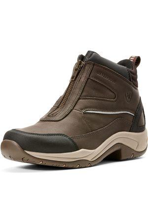Ariat Women's Telluride Zip Waterproof Shoes in Dark Brown