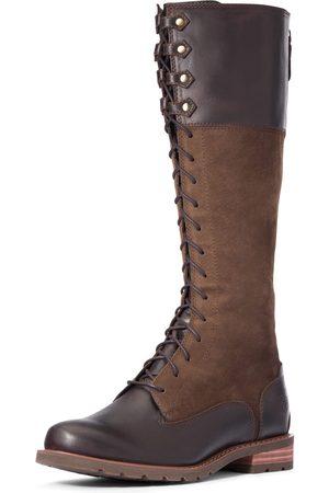 Ariat Women's Ketley Waterproof Boots in Chocolate Willow Leather