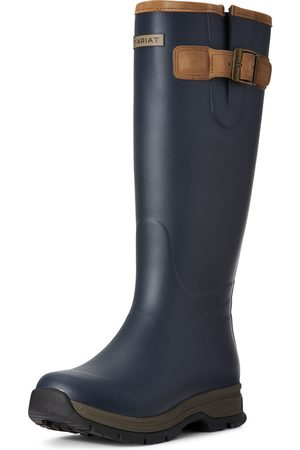 Ariat Women's Burford Waterproof Rubber Boots in Navy Leather