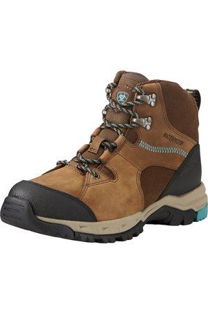 Ariat Women's Skyline Mid Waterproof Shoes in Distressed Brown