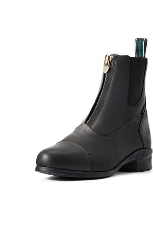 Ariat Women's Heritage IV Zip Waterproof Insulated Paddock Boots in Black Leather