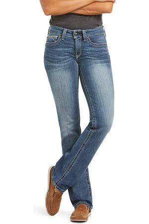 Ariat Women's R.E.A.L. Straight Leg Jeans in Rainstorm Cotton