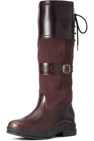 Ariat Women's Langdale Waterproof Boots in Waxed Chocolate Leather