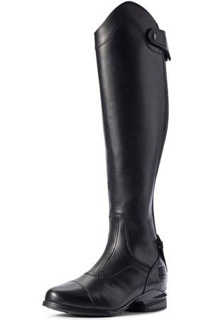Ariat Women's Nitro Max Tall Riding Boots in Black Leather