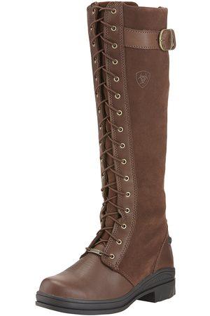 Ariat Damen Stiefel - Women's Coniston Waterproof Boots in Chocolate Cotton