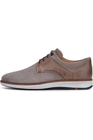 Lloyd Herren Elegante Schuhe - Schnürer Milton in mittelbraun, Business-Schuhe für Herren