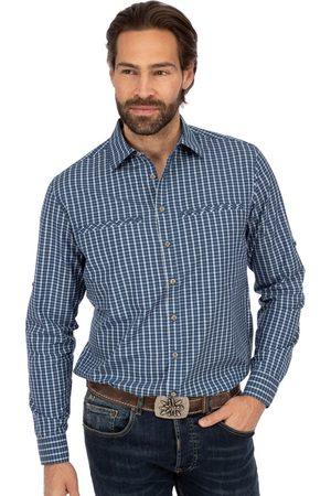 OS-TRACHTEN Herren Shirts - Wanderhemd RF 410000-3808-48 jeansblau