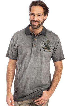 Gipfelstürmer Herren Poloshirts - Poloshirt 428008-3737-15 anthrazit