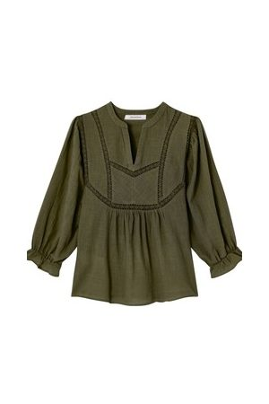 Promod Bluse aus Baumwolle