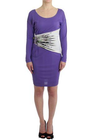 Roberto Cavalli Longsleeved dress Lila, Damen, Größe: 44 IT
