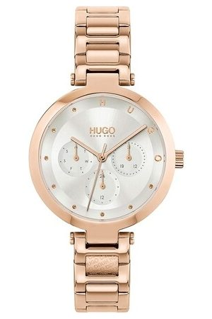 HUGO BOSS Uhr multifunctional watch rosa