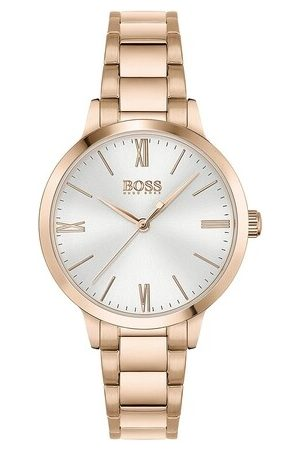 HUGO BOSS Damen Uhren - Uhr Quarz watch rosa