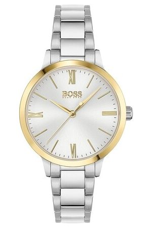 HUGO BOSS Damen Uhren - Uhr Quarz watch silber