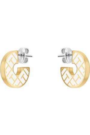 Tommy Hilfiger Damen Uhren - Ohrringe Earrings gold
