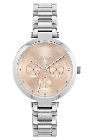 HUGO BOSS Damen Uhren - Uhr multifunctional watch silber