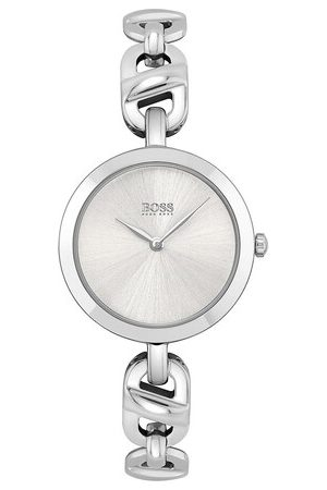 HUGO BOSS Uhr Quarz watch silber