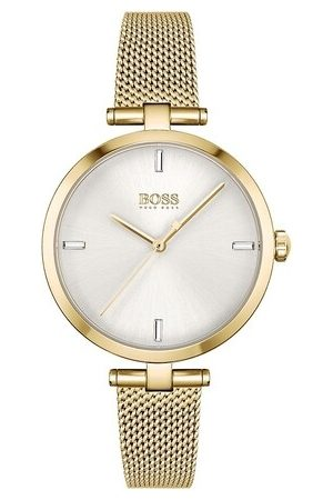 HUGO BOSS Damen Uhren - Uhr Quarz watch gold