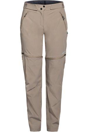 me°ru' Aus Funktionsmaterial. Mit Zipp-off-Funktion als Shorts tragbar. Stretch-Qualität. Gerades Bein. Verstellbarer Taillenbund Klettverschluss an den Seiten. Schließt mit Druckknopf, Haken und Reißverschluss. Seitliche Reißverschlusstaschen mit Mesh-Fu